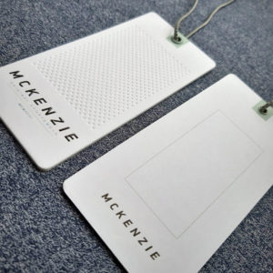 изготовление картонных бирок